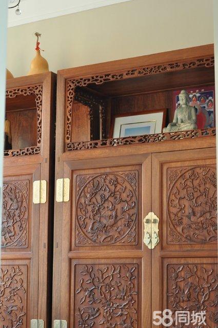 【图】缅甸花梨木万历柜红木家具转让 - 经开二手家具