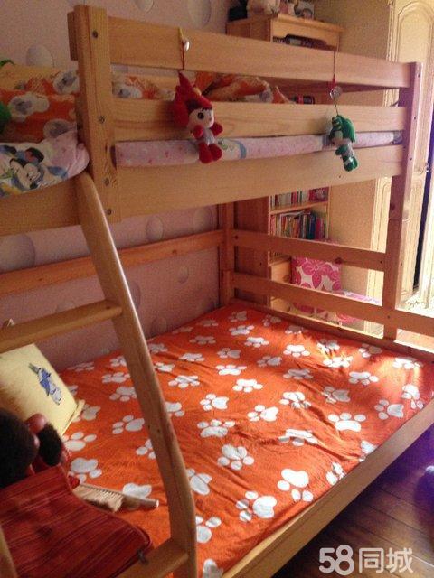 【图】双层实木儿童床
