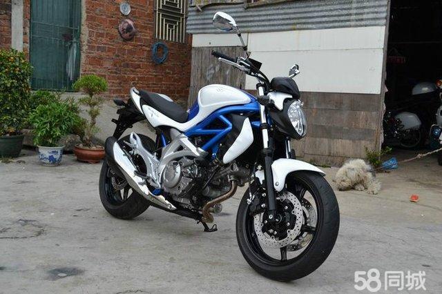 【图】街车新款铃木sfv650摩托车