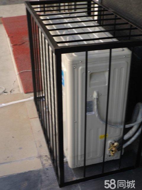 空调室外机钢筋防护罩-制作-安装