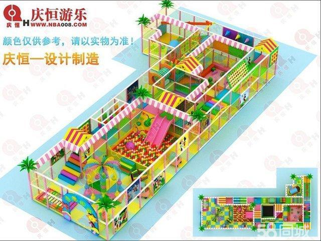 【图】广西南宁儿童淘气堡设计以及安装