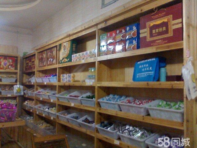 【图】实木干果货架,零食货架