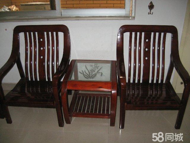 【图】实木沙发椅面试-番禺二手家具v家具转让家具图片