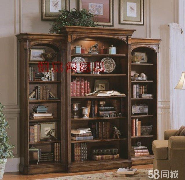 【图】全新书柜浴室柜沙发定做全实木欧式风格纯手工