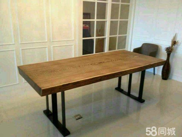 【图】实木大板桌 餐桌茶桌会议桌大班台