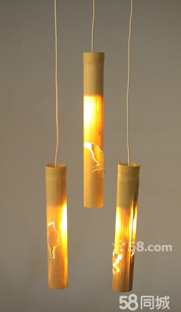 西安美术学院纯手工竹制装饰灯