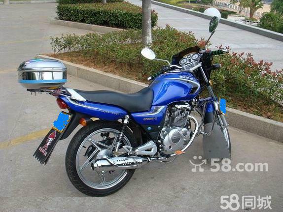 长沙二手摩托车58_【图】本人转让蓝色铃木EN125摩托车 - 天心二手摩托车 - 长沙58同城