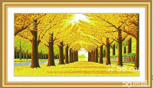 【图】黄金满地(表框)长2米