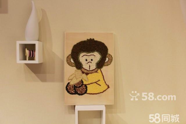 人物五谷杂粮粘贴画展示
