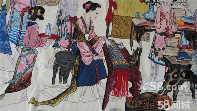 【图】中国十字绣(琴棋书画)