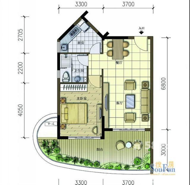 80平米店面及夹层楼房设计图展示