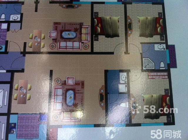 南海港湾 3室2厅2卫 112.4㎡ - 淇滨二手房 - 鹤壁58