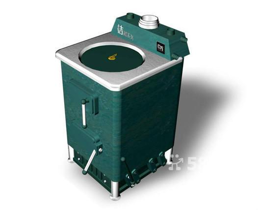 老万采暖炉 气化采暖炉结构图 燃煤采暖炉安装图