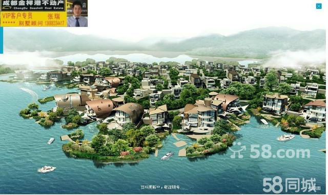 【图】麓湖生态城430独栋别墅出售可看湖景二手房别墅双湖湾昆山图片