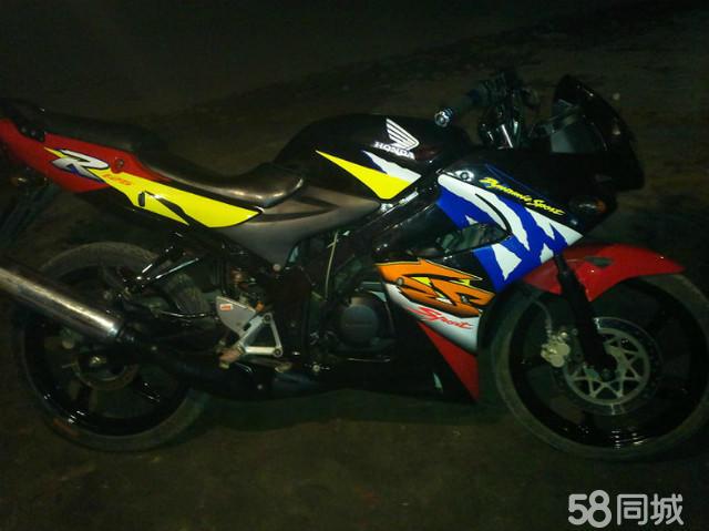 本田125水冷两冲程摩托