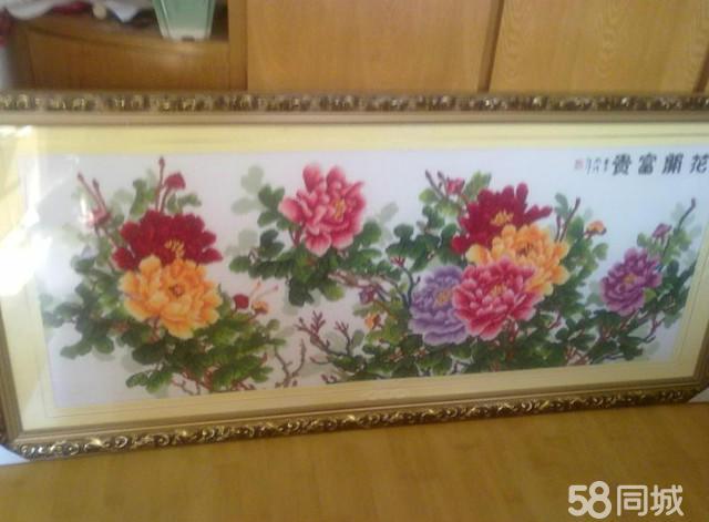 【图】十字绣---花开富贵