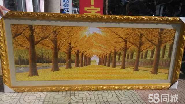 【图】十字绣--黄金满屋