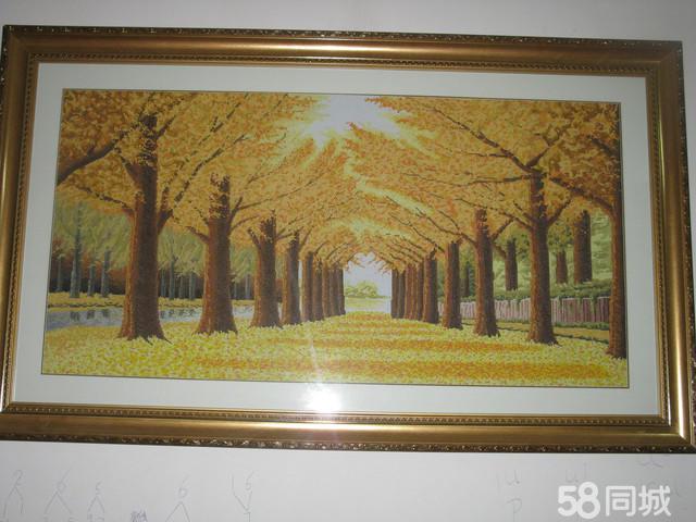 【图】黄金满地十字绣-西陵330艺术品/收藏品图纸层外观设计楼房五图片