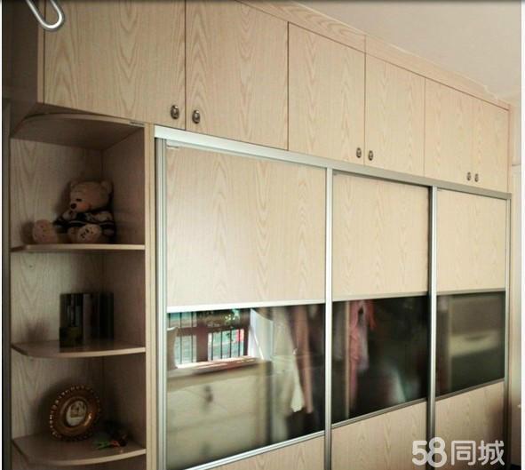 有颗粒板 密度板 生态板重庆明伟家具定做柜子