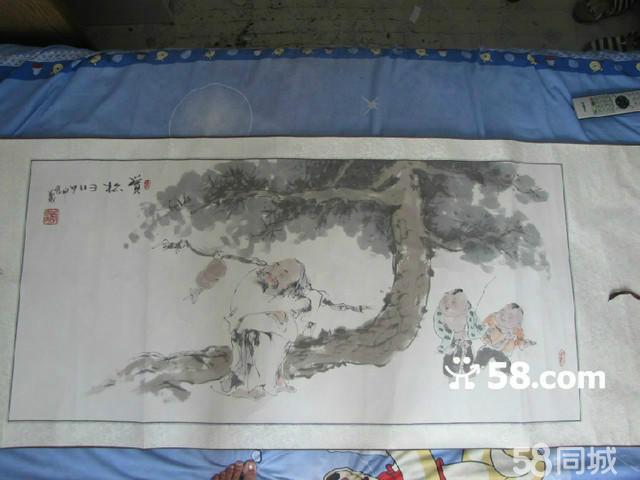 当代水墨画大师李宗义亲笔画 艺术品