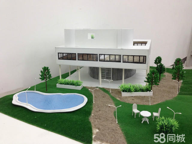 【图】别墅模型制作