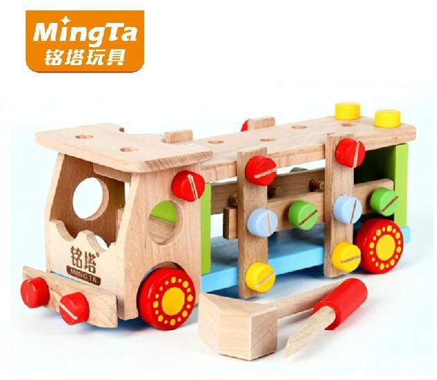 【图】全新正品儿童益智玩具邦宝积木