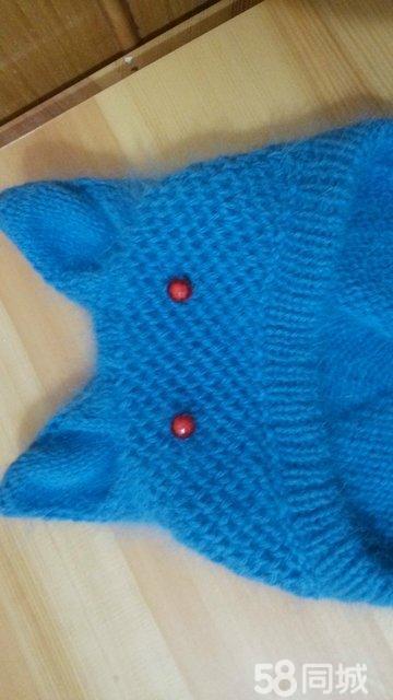 【图】儿童毛衣帽子 亲自手工编织