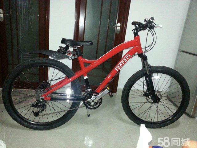 法拉利山地自行车fb2613高清图片