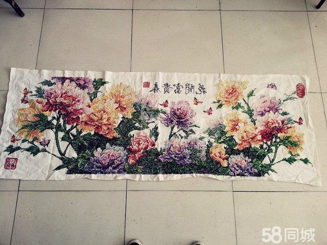 【图】十字绣花开富贵春
