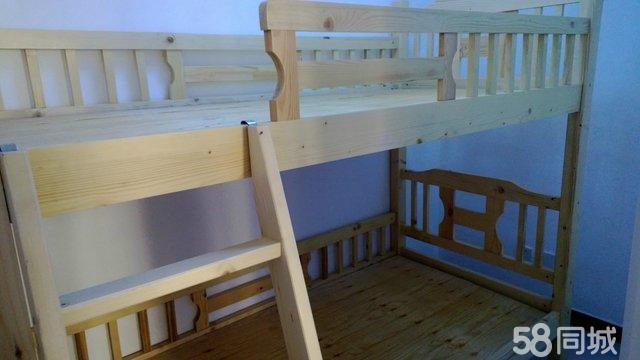 【图】全新松木双层床 - 安次二手家具 - 廊坊58同城