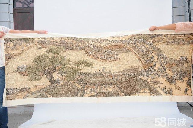 【图】3米清明上河图十字绣