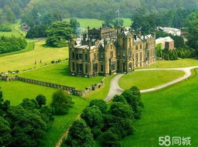 豪华城堡 欧式 大型庄园 堪比比尔庄园 与
