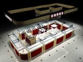 珠宝店cad平面图和3d效果图图片 cad建筑平面图练习图,珠高清图片