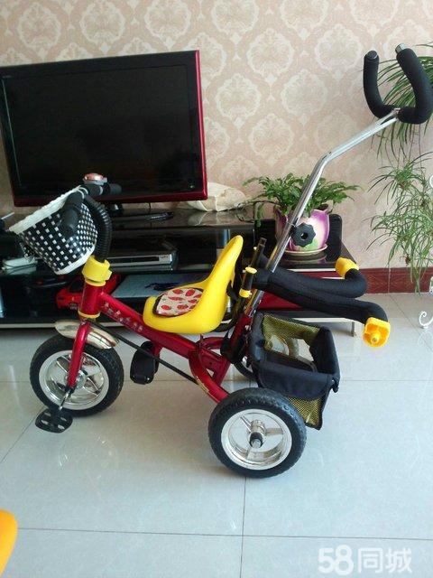 【图】儿童三轮车 手推车