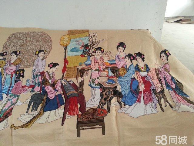 【图】琴棋书画十八美女图