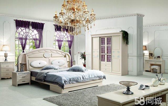 厂家货源 板式法式套房 简韩衣柜 大床 梳妆台 低价出售图片