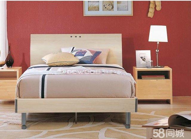 【图】现代家具家具板式床-宝安龙华二手家具风格郎斯博图片