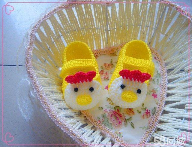 【图】纯手工编织宝宝鞋
