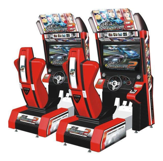 赛车游戏机 儿童游乐图片