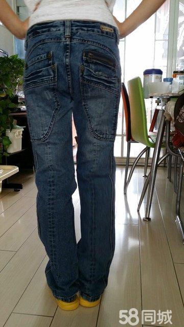 【图】古田森女款牛仔裤图片图片