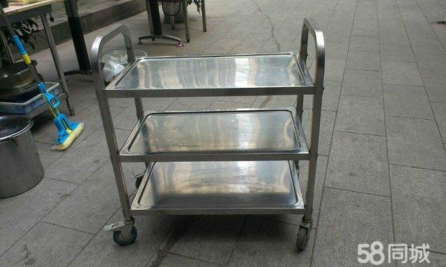 【图】不锈钢餐车/吊酒杯架/不锈钢桶/吧台/操作台