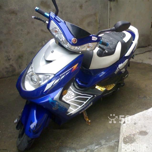 【图】黑色村官雅马哈讯鹰125踏板摩托车-广美女写真美女丝图片