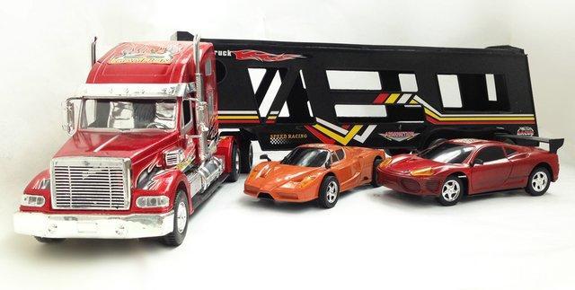 大卡车翻斗车玩具