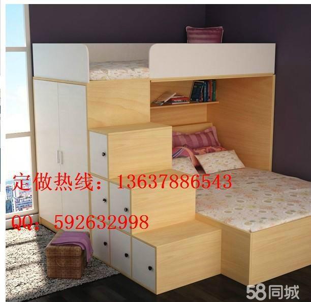 家具厂专业定做高中档烤漆免漆衣柜,床,沙发,金钢门,玻璃滑门,各种图片
