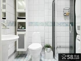 简约设计室内2平米卫生间图片欣赏