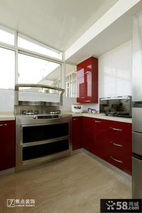 阳台厨房橱柜图片