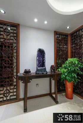 古典中式玄关设计大全