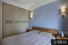 日式家庭设计卧室图片