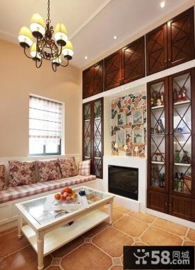 美式田园家装设计风格二居室