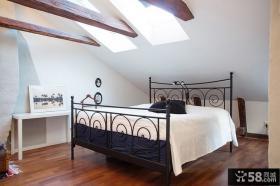 北欧风阁楼卧室装修效果图